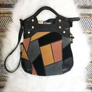 Foley & Corinna Patchwork  Lady Tote